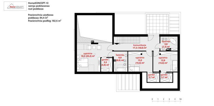 Projekt domu HomeKONCEPT-13 | HomeKONCEPT