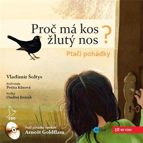 Třináct krásných pohádek z ptačího světa. Nechte sebe a vaše děti okouzlit příběhy z ptačího světa, v jedinečném podání předního českého herce, Arnošta Goldflama.