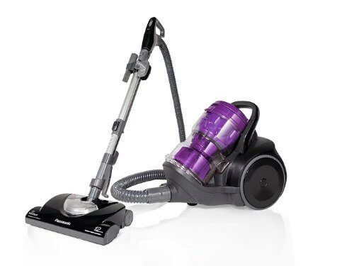 the panasonic u201cjet forceu201d canister vacuum cleaner is one of those top ranked bagless cyclonic canister vacuum cleaners that has become a premium choice - Canister Vacuum Reviews