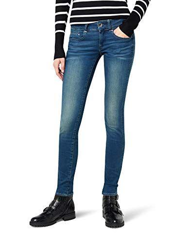 29463884c0c G-STAR RAW Midge Cody Mid Skinny WMN Jeans Femme Bleu (Power Wash 3628.2422