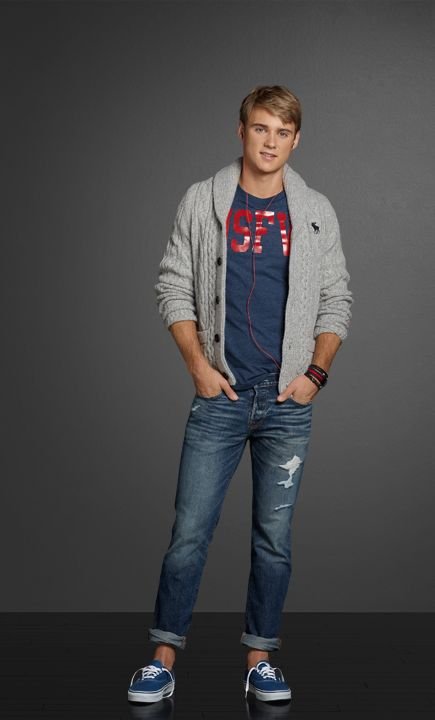 Campus Cool | Abercrombie.com ... Quent similar outfit to what he wears on project night with Lex.