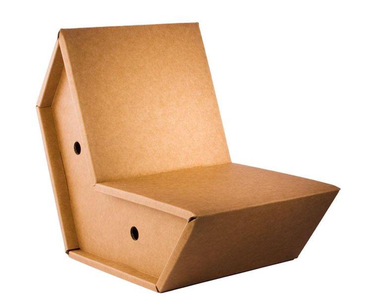 chaise carton paillasse pinterest. Black Bedroom Furniture Sets. Home Design Ideas