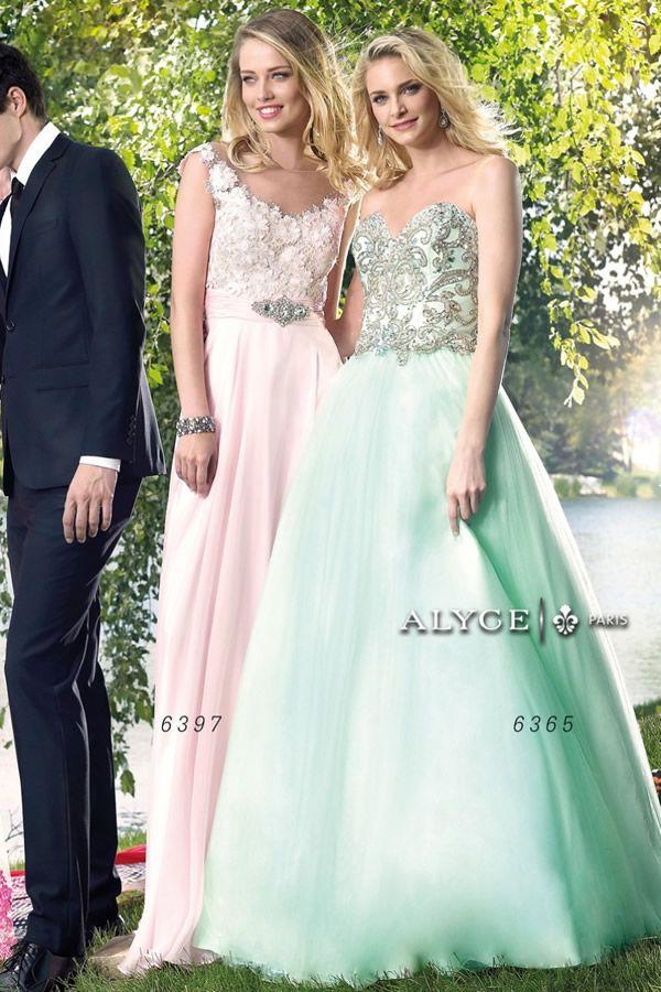 Vestidos para quinceañera 2015 de Alyce Paris