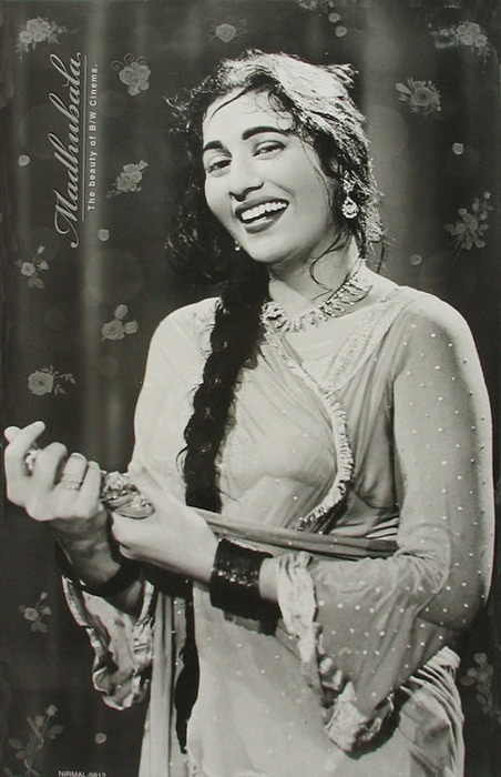 Madhubala. Just the name is enough. A woman so wholesome, so beautiful, that you would want to praise God for the work of his hands.