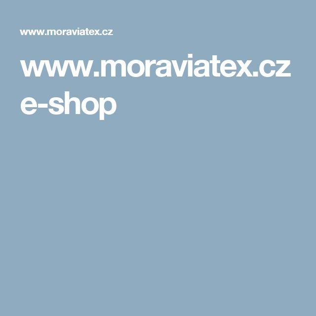 www.moraviatex.cz e-shop