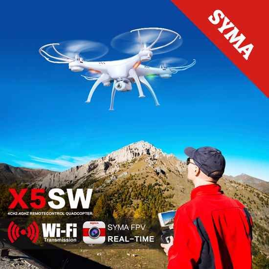 Syma X5SW Drone with WiFi FPV Camera //Price: $60.95 & FREE Shipping //