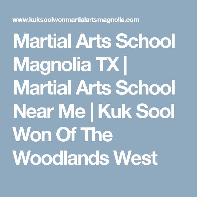 Martial Arts School Magnolia TX | Martial Arts School Near Me | Kuk Sool Won Of The Woodlands West