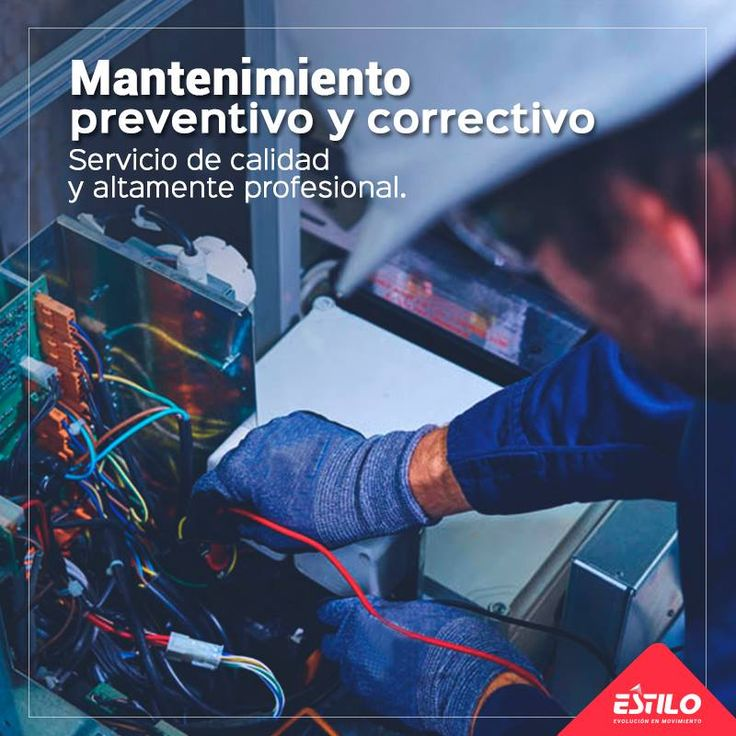 Estilo Ingeniería, asume el compromiso de asegurar el buen estado de sus equipos a través del servicio de mantenimiento preventivo y correctivo. Ingrese a estiloingenieria.com/contacto/
