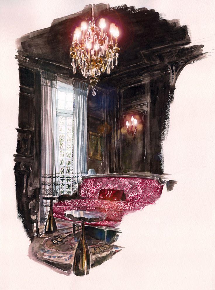 Garance Wilkens - Salons de Dior