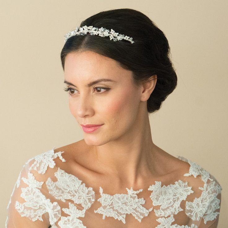 Aye Do Ltd - Kayla Wedding Headband (ic), £75.00 (http://www.ayedoweddings.co.uk/kayla-wedding-headband-ic/)