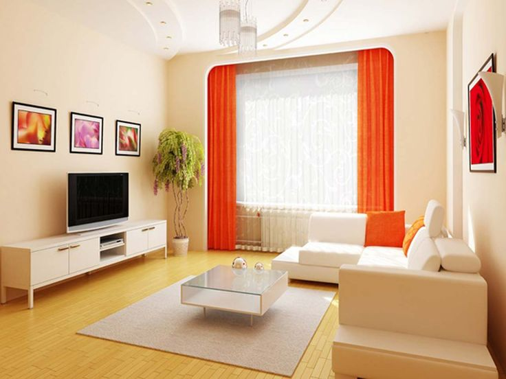 Red Best Living Room Low Budget ~ http://www.lookmyhomes.com/15-best-low-budget-living-room-design/