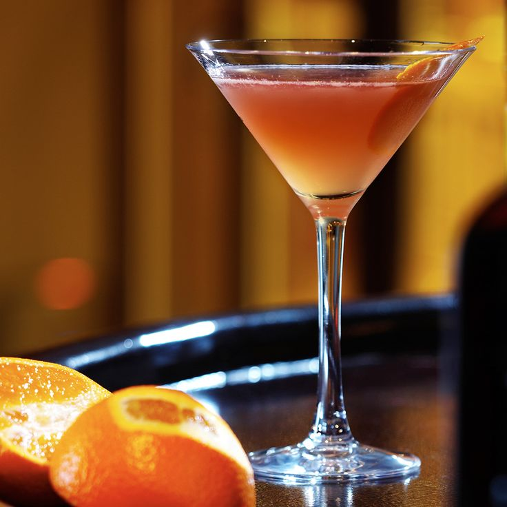 Take the sophistication of the classic martini and pair it with sweet peach flavor and you've got an instant hit. The Peachtree® Martini is simple to create, making it a perfect choice for serving at parties or just relaxing with friends. The fresh taste of orange juice combines with DeKuyper® Peachtree® and smooth Pinnacle® Vodka to create a peach vodka martini everyone will love.