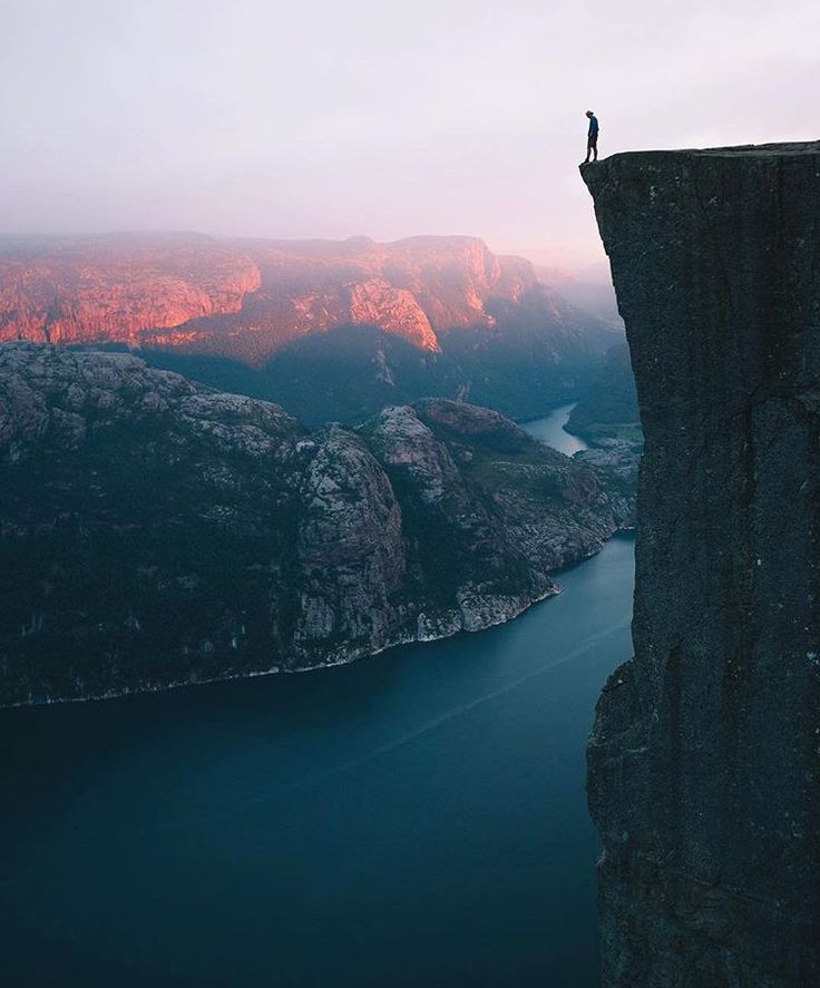 Living on the edge | We all know about nature's strength and we have experienced it in storms and earthquakes, but you have to see that to really understand nature's silent force and grace!