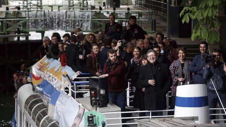 Pour ce lundi de Pâques, Jean-Luc Mélenchon avait prévu de faire un tour en péniche de Bobigny à Paris. L'occasion pour lui de multiplier les interventions publiques au fil du parcours, et de lancer ses dernières recommandations à ses sympathisants dans la dernière ligne droite avant...
