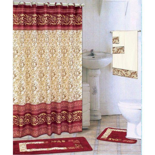 Gold Badezimmer Teppich Sets Ideen Perfekt Badezimmermobel Fabric Shower Curtains Bathroom Sets Modern Shower Curtains