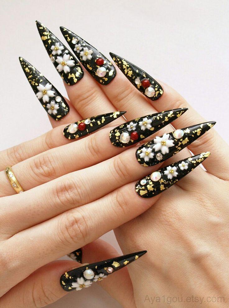 Mejores 32 imágenes de Uñas en Pinterest | Arte de uñas, Belleza y ...