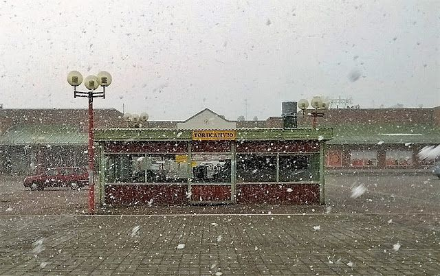 Martje: Rovaniemi, Finland. Let's see if  summer comes at  all when it is almost always snowing