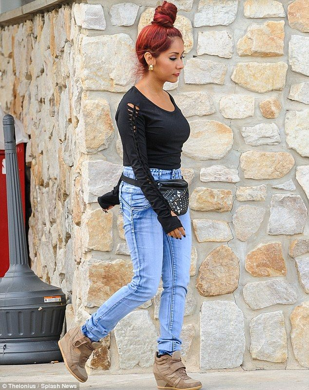 Snooki Weight Loss   ... for her own jeggings after dramatic 50 pound weight loss   Mail Online