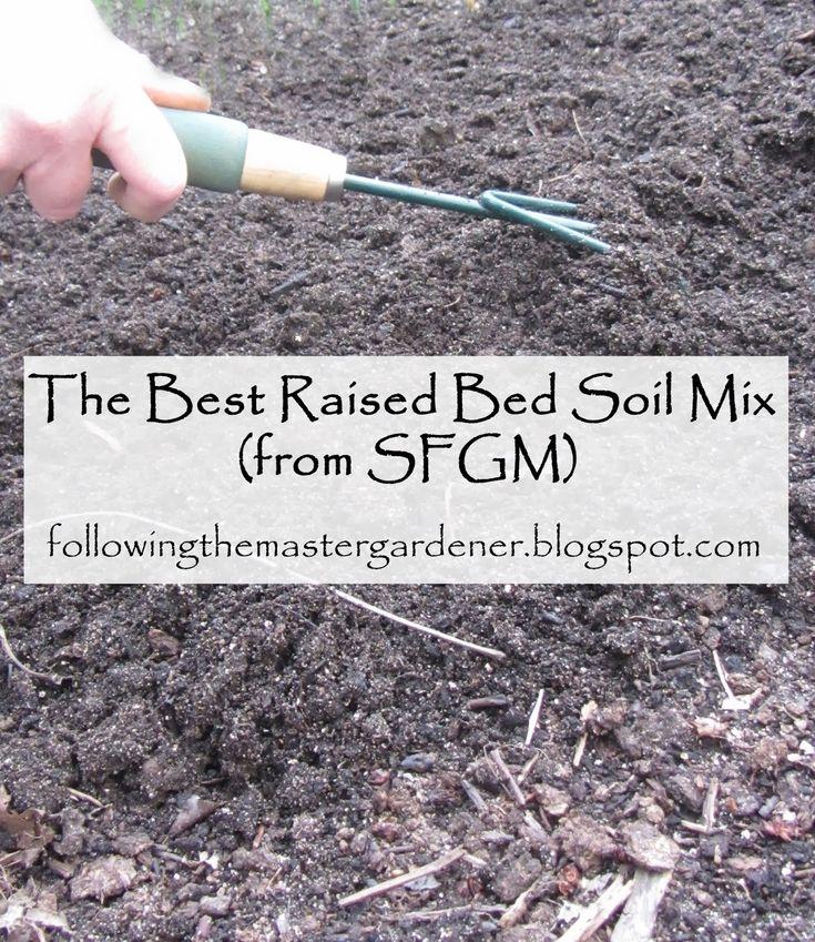 39 best cold frames raised beds images on pinterest Soil mixture for raised vegetable garden