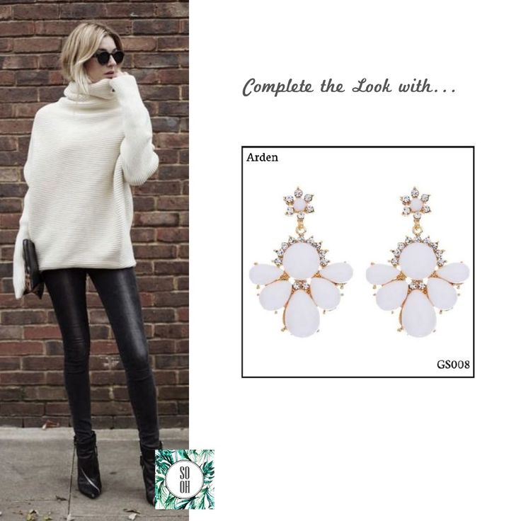 Ref: GS008 Arden Medidas: 5.5 cm x 3.9 cm So Oh: 5.99  #sooh_store #onlinestore #style #inspiration #styleinspiration #brincos #earrings #fashion #shoponline #aw2016 #aw1617 #winterstyle