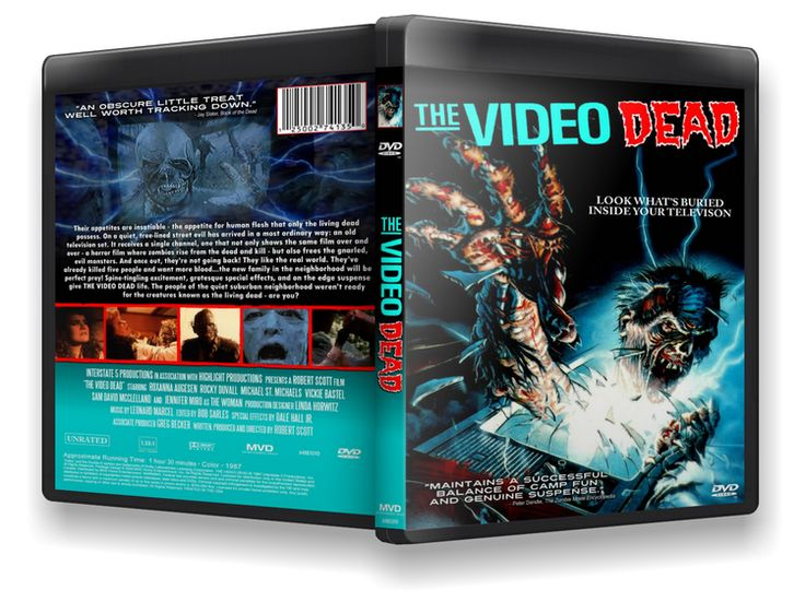 HorrorHell: Video zombik (The Video Dead) [BRRiP.1987]