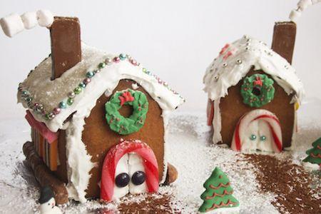 Recetas de Navidad: Casitas de jengibre paso a paso