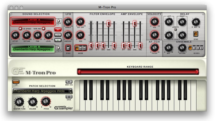 MTron Pro... Great Synth used by The Beatles, Yes and more....