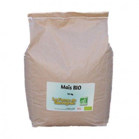 Une Idée pour nos animaux :  Maïs concassé BIO - 10 kg Maïs bio aplati. Ce produit ne contenant aucun pesticide, il peut y avoir des charançons ou mites, cela n'altere pas les propriétés des céréales, vous pouvez les donner à vos poules. Recommandé par La ferme de Sauvegrain Certifié AB (Agriculture Biologique) Produit en France http://www.lafermesauvegrain.com/alimentation-poules-bio-sans-ogm/146-mais-bio.html