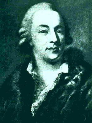 Giovanni Giacomo Casanova (1725-1798) The famous seducer retired to the role of librarian, where he wrote his famous memoirs.