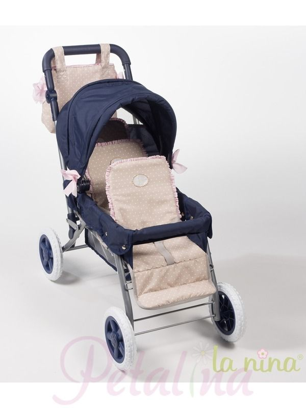 La Nina Amelia Triple Pushchair