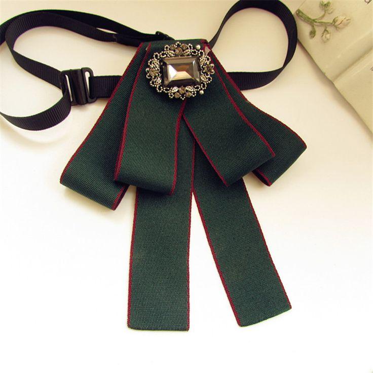 New-Dress-Man-Collar-Bow-Tie-Vintage-Brooches-Long-Ribbon-Tassel-Woman-Big-Bowknot-Wedding-Shirts.jpg 800×800 pixels