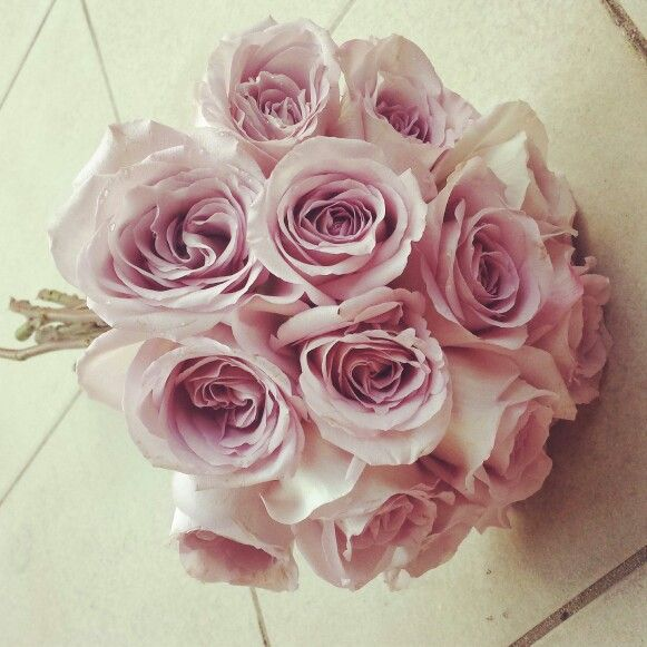 Mauve rose bride bouquet by www.facebook.com/amityblooms instagram @Amity Blooms