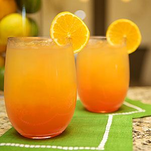Signature drink for my birthday vacation - OBA: Inspired by vibrant orange