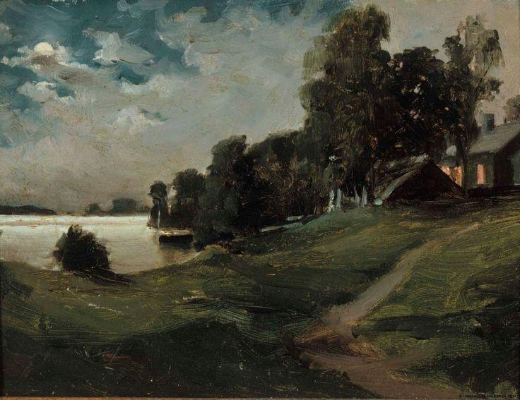 Kansallisgalleria - Taidekokoelmat - Haikon huvila kuutamossa