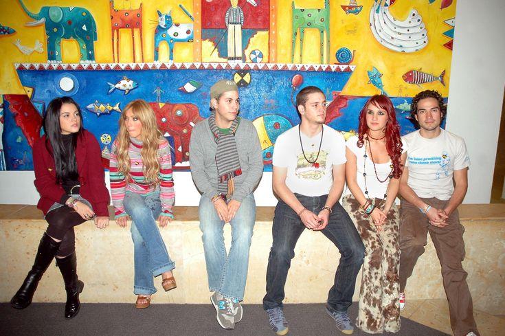 RBD visitando o CRIT no México (03.12.07) - HQ! - RBD Fotos Rebelde | Maite…