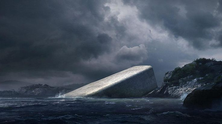 The First Underwater Restaurant İn Europe Will Also Be An Artificial Reef