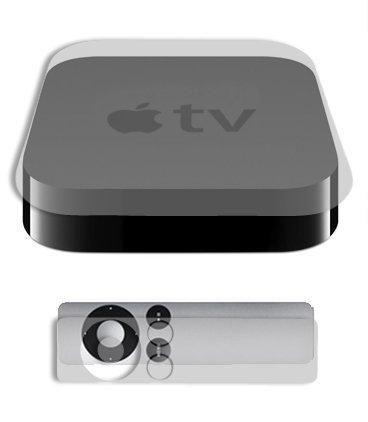 Apple TV Full Body Skin (3rd Gen) Skinomi TechSkin Full Coverage Skin Protector for Apple TV Front & Back Clear HD Film