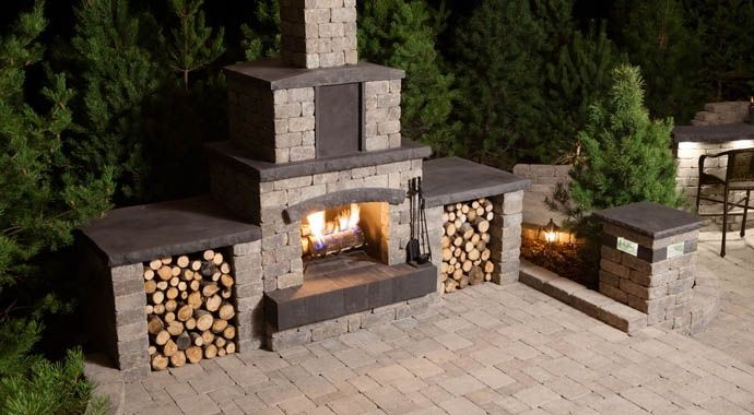 31 best barkman images on pinterest precast concrete for Precast concrete outdoor fireplace kits