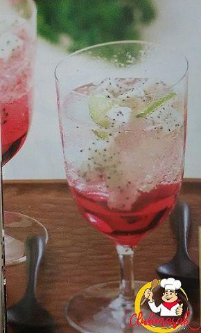 Resep Minuman Soda Buah Naga, Resep Minuman Sehat Untuk Diet, Club Masak