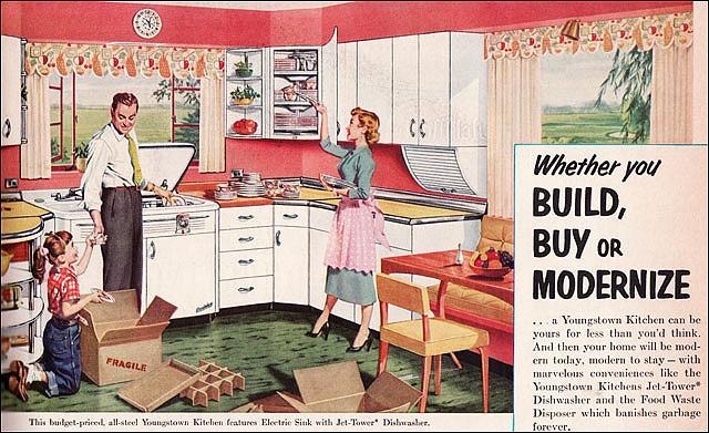 Lovin the 1953 dishwasher