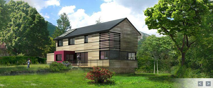 1000+ ideas about Constructeur Maison Bois on Pinterest  ~ Constructeurs Maisons Ossature Bois