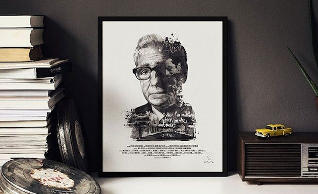 Illustrated Posters Celebrating Famous Movie Directors
