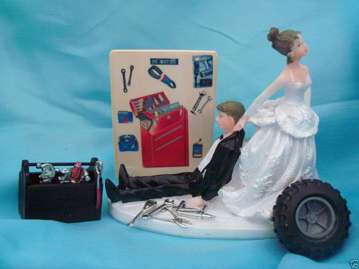grease monkey wedding cake topper the 25 best ideas about tire wedding cakes on 14906