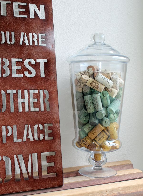 for Decorating with wine corks