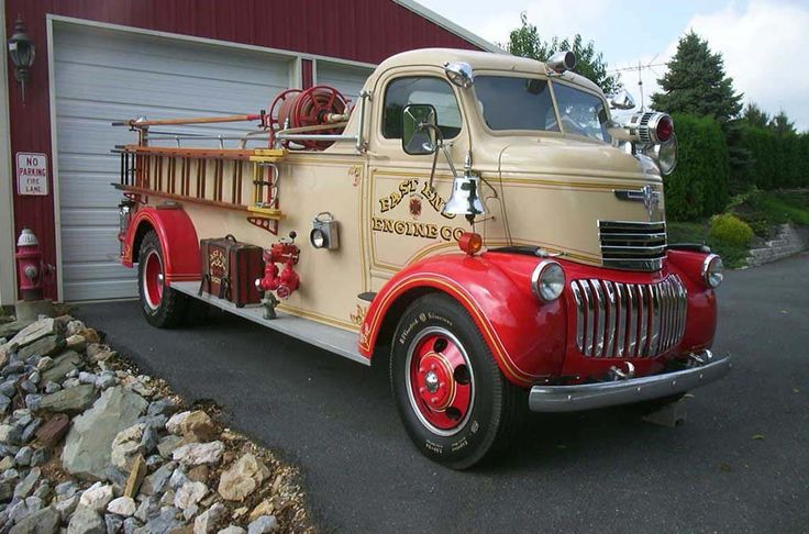 1944 chevy COE Fire Truck