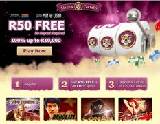 20 Free Spins + R50 No Deposit Bonus @ Simba Games - Online Casinos Online  Sign up and enjoy a R50 No Deposit bonus at Simba Games. If you want more excitement, get 20 Free Spins + 100% up to R10,000 welcome bonus  http://www.onlinecasinosonline.co.za/simba-games-review.html