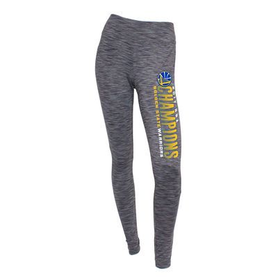Women's Golden State Warriors Concepts Sport Charcoal 2017 NBA Finals Champions Latitude Leggings - NBA Store