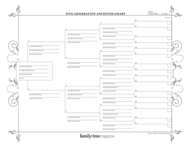 Best Printable Genealogy Forms Images On   Family Tree