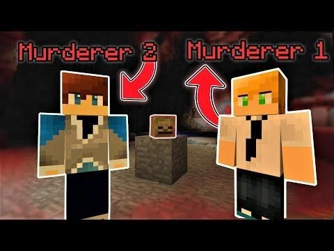 OUR NAMES ARE...MURDERER 1 & MURDERER 2. WE'RE SERIOUS.