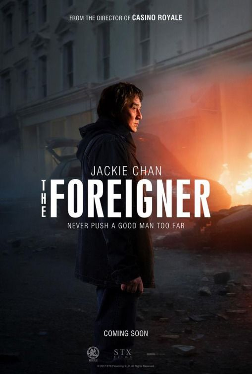 The Foreigner Movie Poster